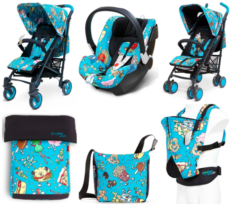 Jeremy Scott Designs Buggy Stroller And Carseat For Cybex